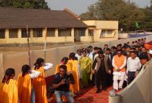 Foundation Stone Laying Ceremony of school building  Kolkata